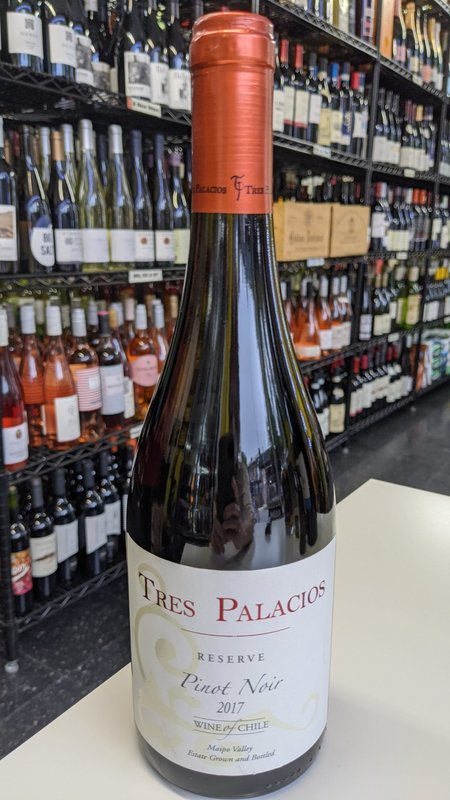 Tres Palacios Tres Palacios Reserve Pinot Noir 2018 750ml