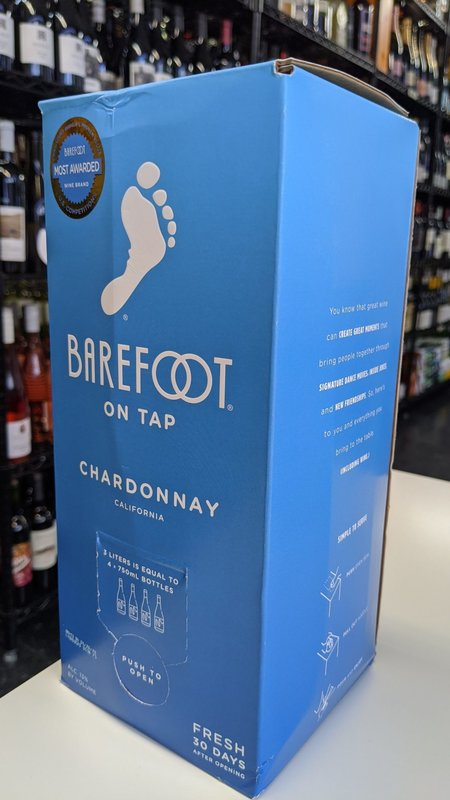 Barefoot Barefoot Chardonnay NV 3L