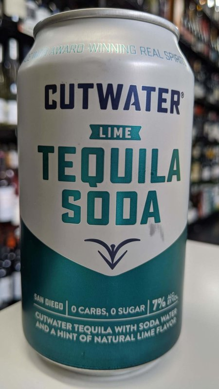 Cutwater Cutwater Tequila Soda Lime 12oz