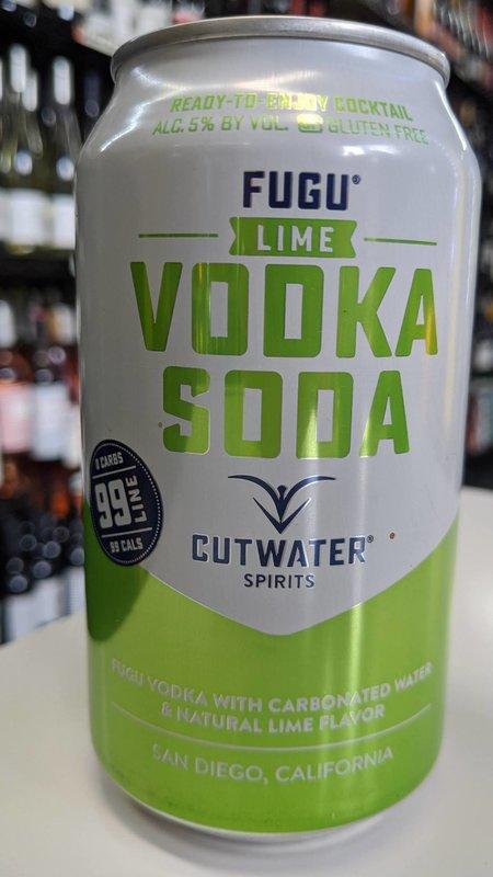 Cutwater Cutwater Vodka Soda Lime 12oz