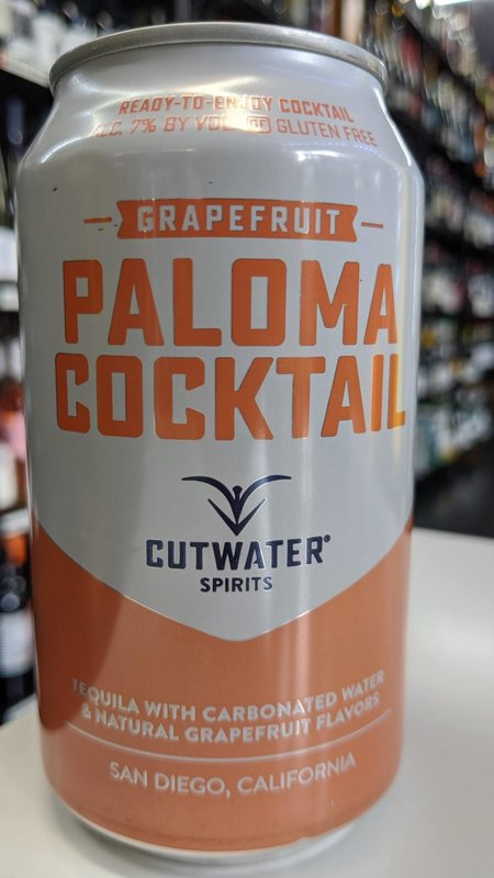 Cutwater Cutwater Paloma Cocktail Grapefruit 12oz