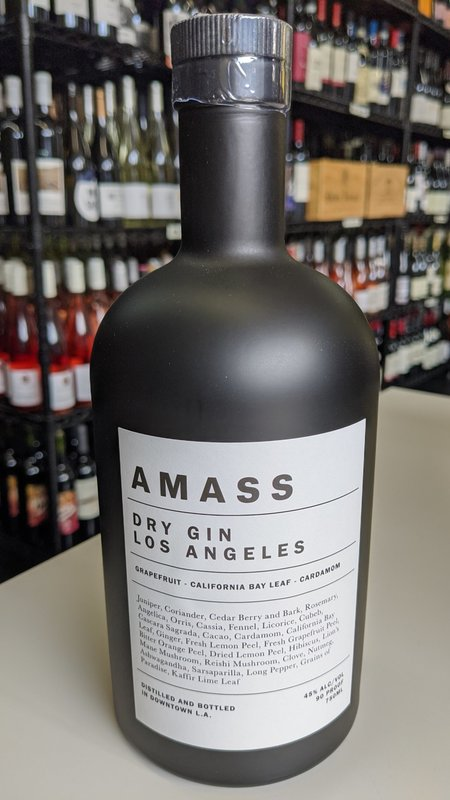 Amass Amass Los Angeles Gin 750ml