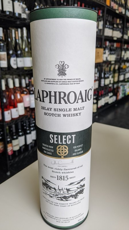 Laphroaig Laphroaig Single Malt Select Scotch 750ml