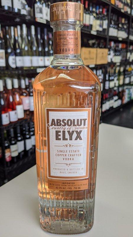 Absolut Elyx Absolut Elyx Single Estate Handcrafted Vodka 750ml