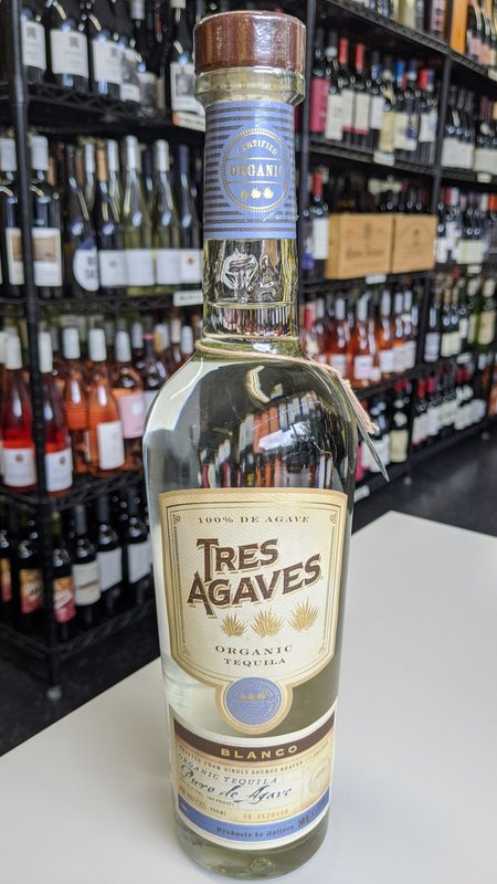 Tres Agaves Tres Agaves Blanco Tequila 750ml