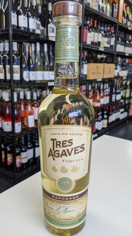 Tres Agaves Tres Agaves Reposado Tequila 750ml