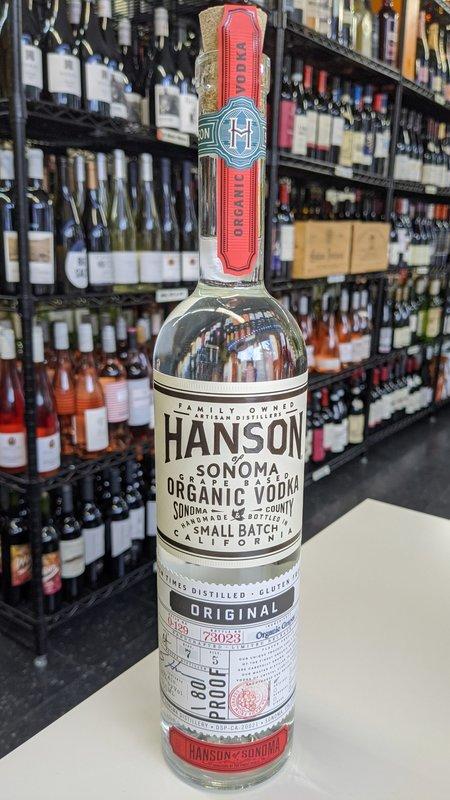Hanson of Sonoma Hanson of Sonoma Organic Vodka 750ml
