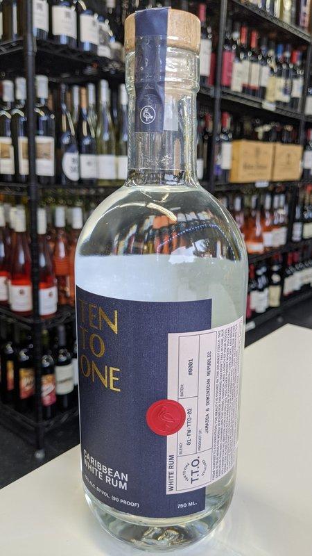 Ten to One Ten To One White Rum 750ml