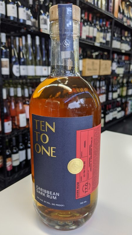 Ten to One Ten To One Dark Rum 750ml