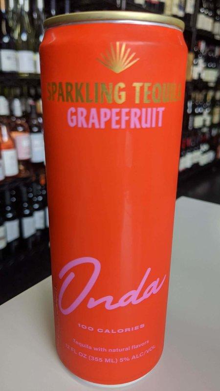 Onda Onda Tequila Grapefruit Sparkling 12oz