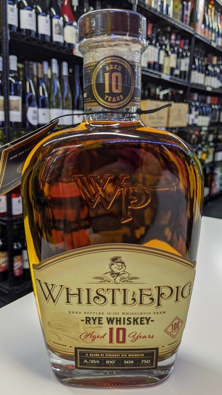WhistlePig Whistlepig 10Y 100 Proof Rye 750ml