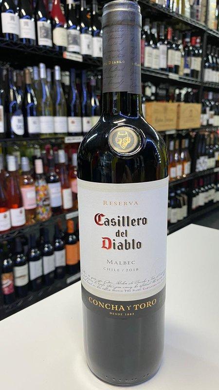 Casillero del Diablo Casillero del Diablo Reserva Malbec  72018 50ml