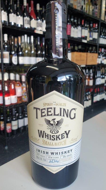 10 Span Teeling Small Batch Rye  Irish Whiskey 750ml