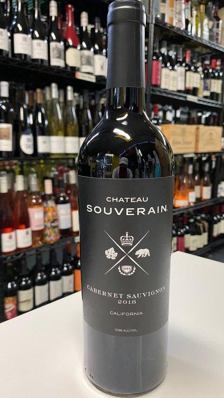 Souverain Chateau Souverain Cabernet Sauvignon 2018 750ml