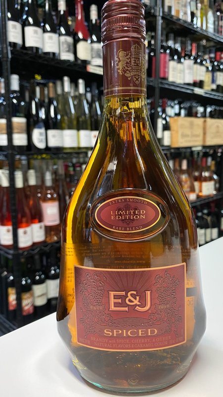 E&J E&J Spiced Brandy 750ml
