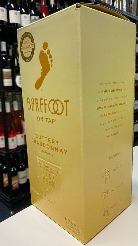 Barefoot Barefoot Buttery Chardonnay NV 3L