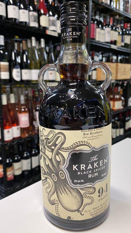kraken Kraken Spiced Black Label Rum 750ml