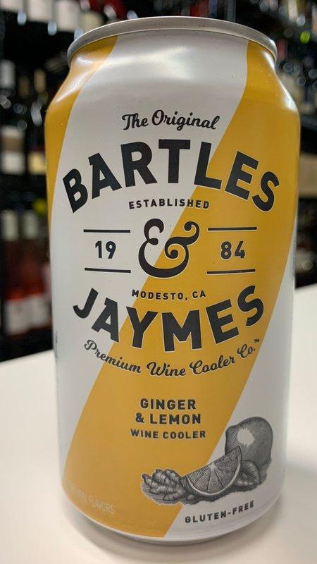 Bartles & Jaymes Bartles & Jaymes Ginger Lemon 355ml