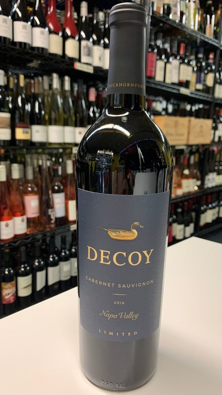Decoy Decoy Limited Cabernet Sauvignon  2018 750ml