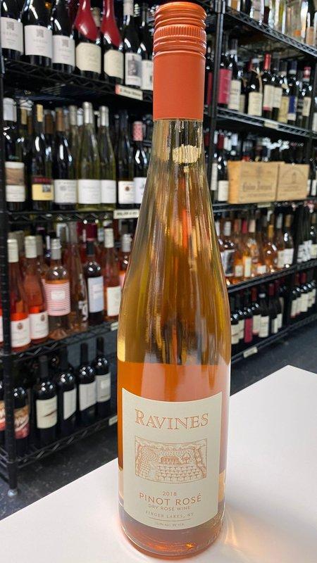 Ravines Ravines Pinot Rosé Finger Lakes 2018 750ml