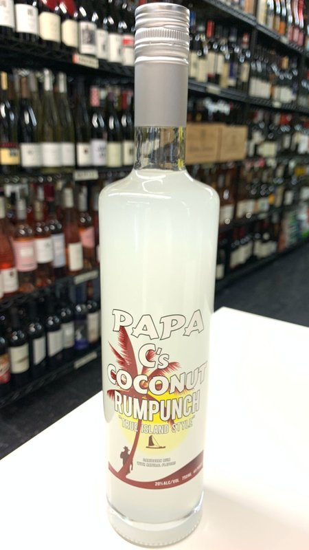 Papa Cs Papa C's Coconut Rumpunch 750ml