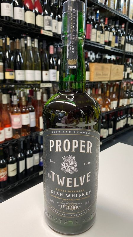 Proper Proper Twelve Blended  Irish Whiskey 750ml