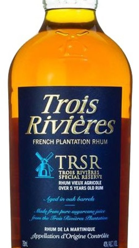 Trois Riviere Trois Rivieres Reserve Rum 750ml