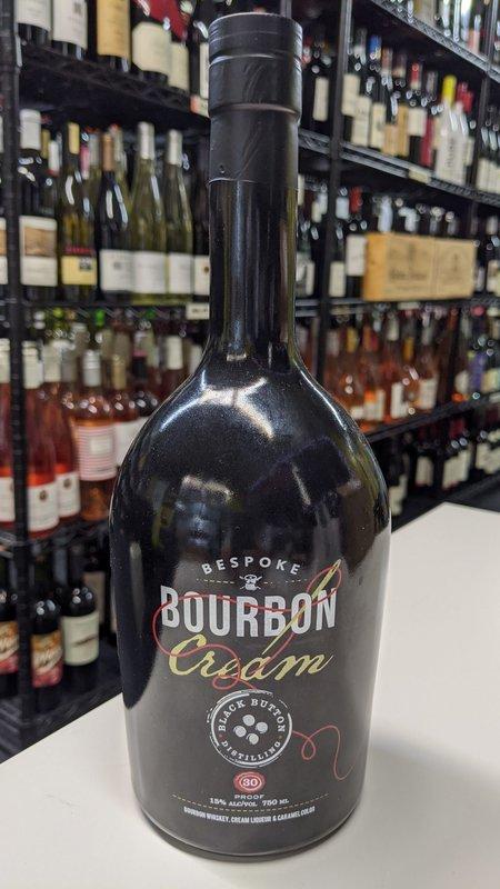 Bourbon Cream Black Button Bespoke Bourbon Cream 750ml