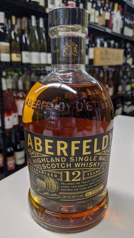 Aberfeldy Aberfeldy Highland 12Y Single Malt Scotch 750ml