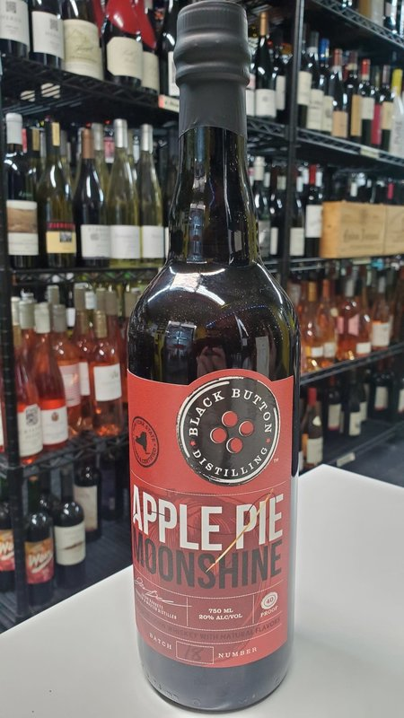 Black Button Black Button Apple Pie Moonshine  750ml