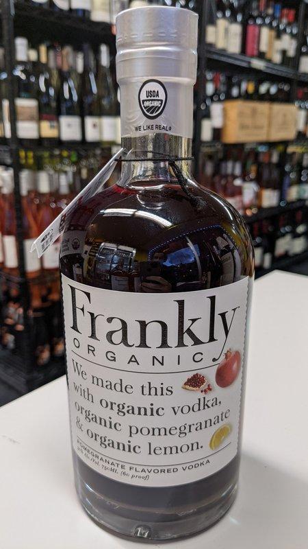 Frankly Frankly Organic Pomegranate Vodka 750ml