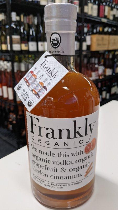 Frankly Frankly Organic Grapefruit Vodka 750ml