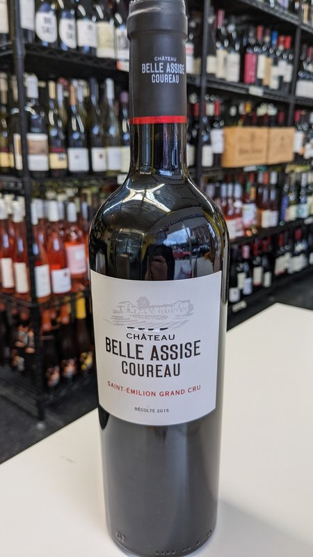 Chateau Belle Assise Coureau Chateau Belle Assise Coureau Saint Emilion Grand Cru 2018 750ml