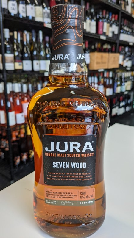 Jura Jura Seven Wood Single Malt Scotch Whisky 750ml