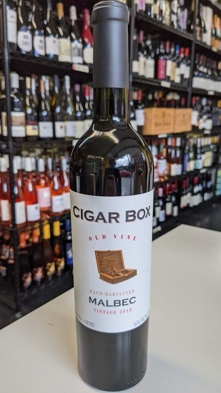 Cigar Box Cigar Box Malbec 2018 750ml