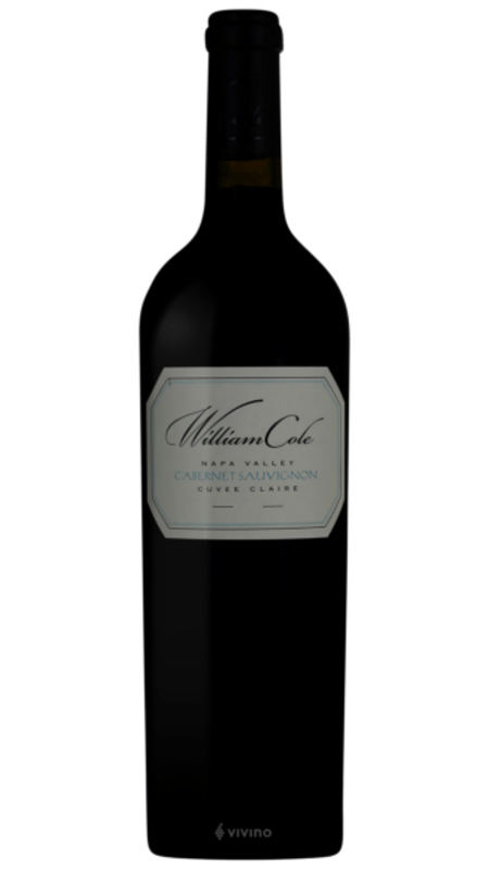 William Cole William Cole Cuvee Claire Cabernet Sauvignon 2015 750ml