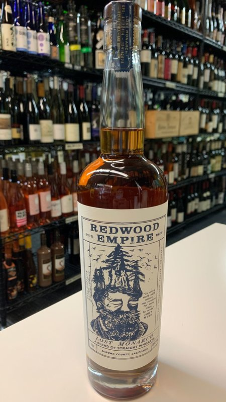 Redwood Redwood Empire Lost Monarch Whiskey 750ml