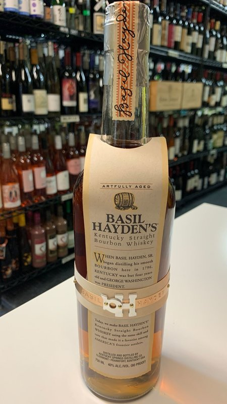 Basil Hayden's Basil Hayden's Straight Bourbon 750ml