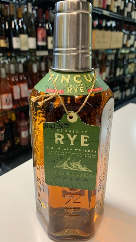 Tin Cup Tincup Rye Whiskey 750ml