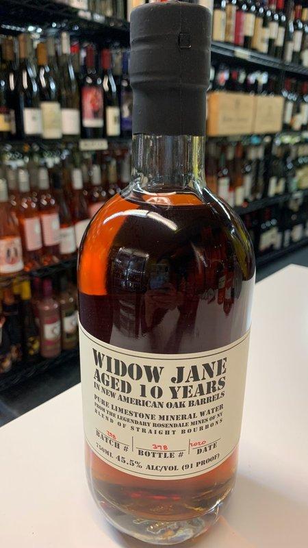 Widow Widow Jane Bourbon 10Y Whiskey 750ml