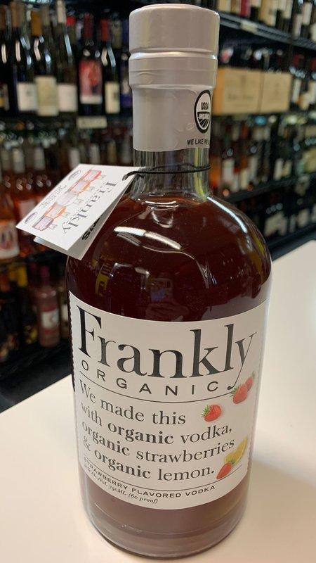 Frankly Frankly Organic Strawberry Vodka 750ml