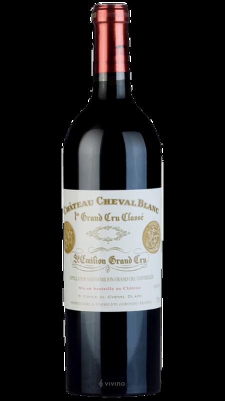 Château Cheval Blanc Chateau Cheval Blanc Saint-Emilion  1999 750ml