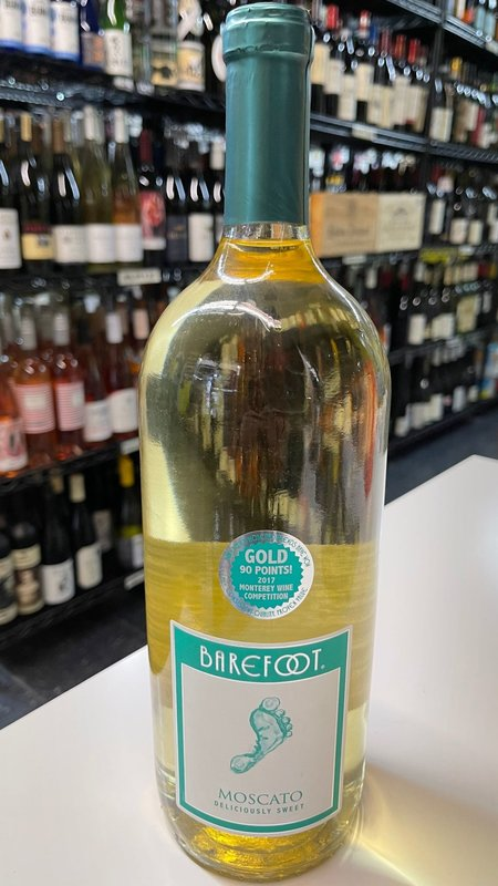 Barefoot Barefoot Moscato NV 1.5L
