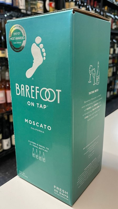 Barefoot Barefoot Moscato NV  3L