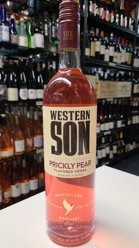 Western Son Western Son Prickly Pear Vodka 1L