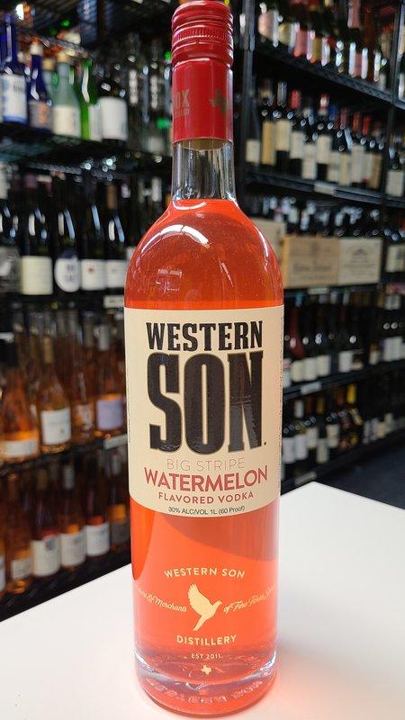 Western Son Western Son Watermelon Vodka 1L