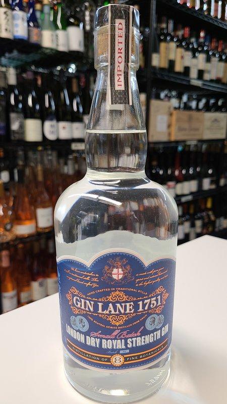 Gin Lane Gin Lane 1751 London Dry Royal Strength Gin 750ml