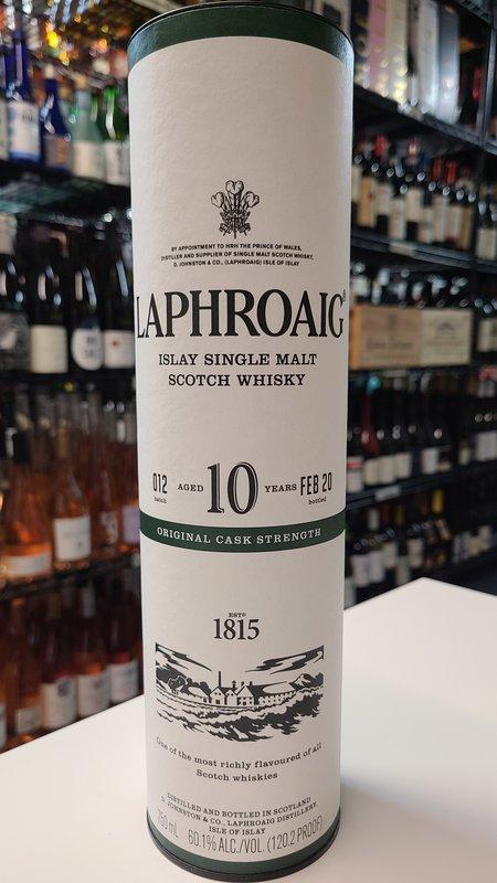 Laphroaig Laphroaig Cask Strength Single Malt 10Y Scotch 750ml