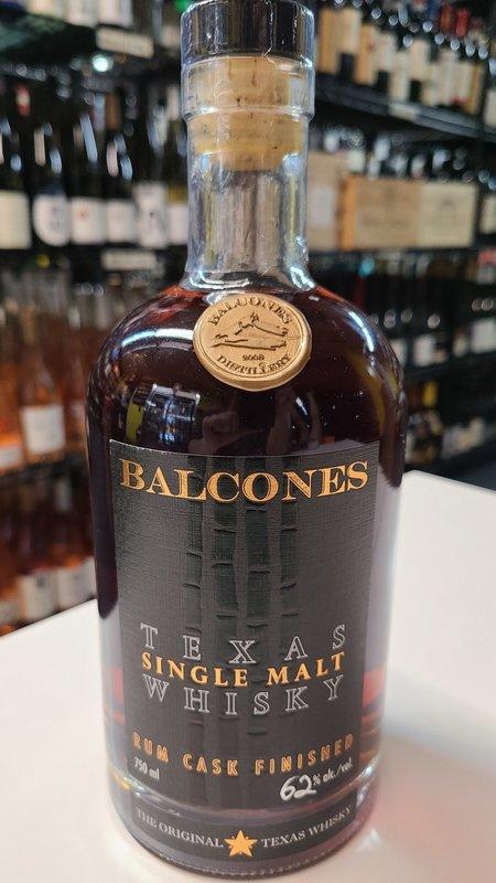 Balcones Single Malt Rum Cask Whisky 750ml