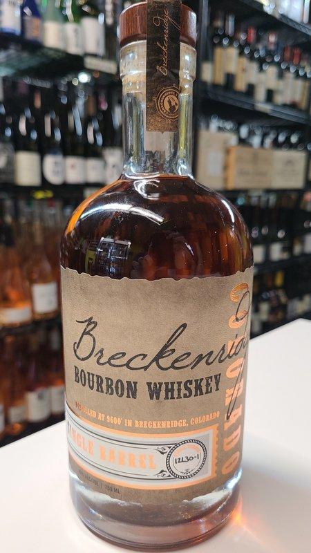 Breckenridge Single Barrel Bourbon Whiskey 750ml